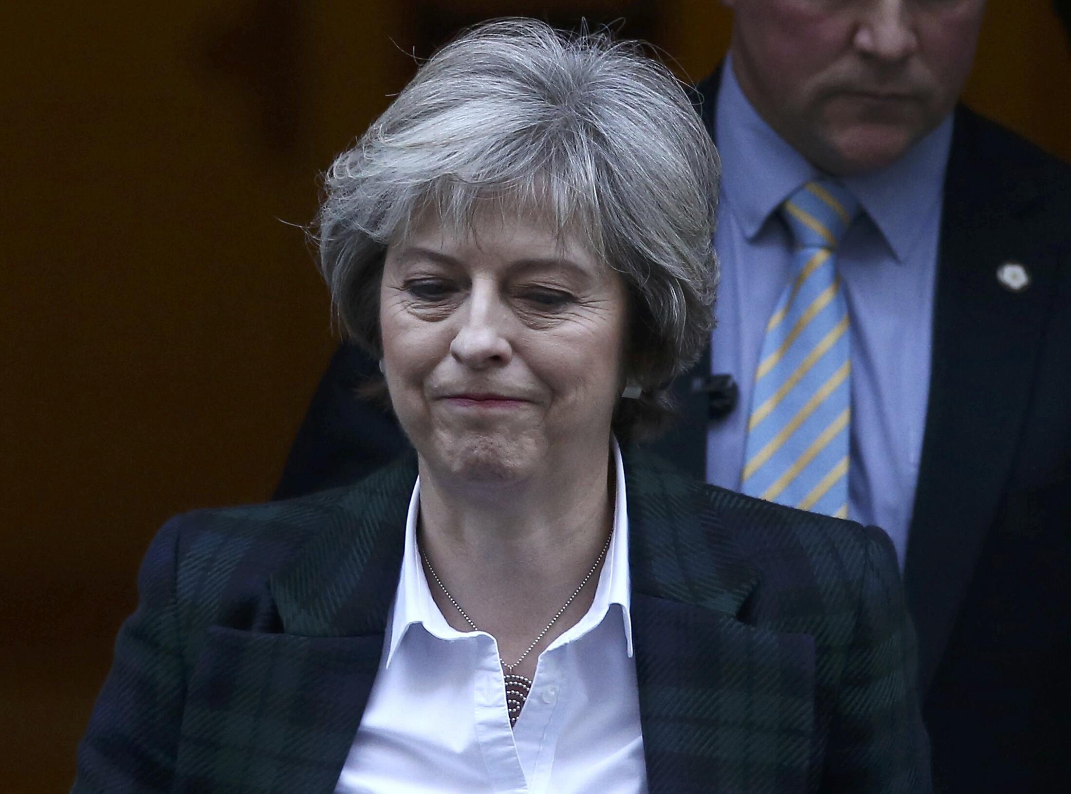 英国首相特蕾莎.梅