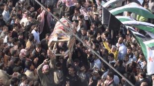 A cidade de Homs, a 150 km da capital, Damasco, é um dos principais focos de protestos contra o governo sírio.