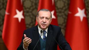 Le président turc Erdogan sera reçu par le pape le 5 février.