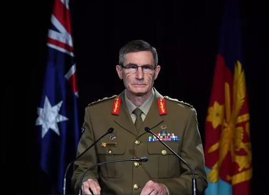澳大利亞國防軍總司令安格斯·坎貝爾資料圖片