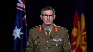 澳大利亚国防军总司令安格斯·坎贝尔资料图片