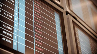 Hundreds of flights have been cancelled at France's Charles de Gaulle airport since air traffic controllers began their strike.