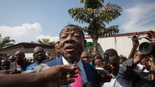 Msemaji wa serikali ya Kinshasa Lambert Mende