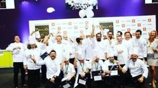 A equipe brasileira que concorre este ano no concurso que acontece em São Paulo dias 14 ao 16 de março.