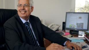 Le doyen de la faculté de lettres de la Manouba, Habib Kazdaghli, après l'annonce de son acquittement, le 2 mai 2013.