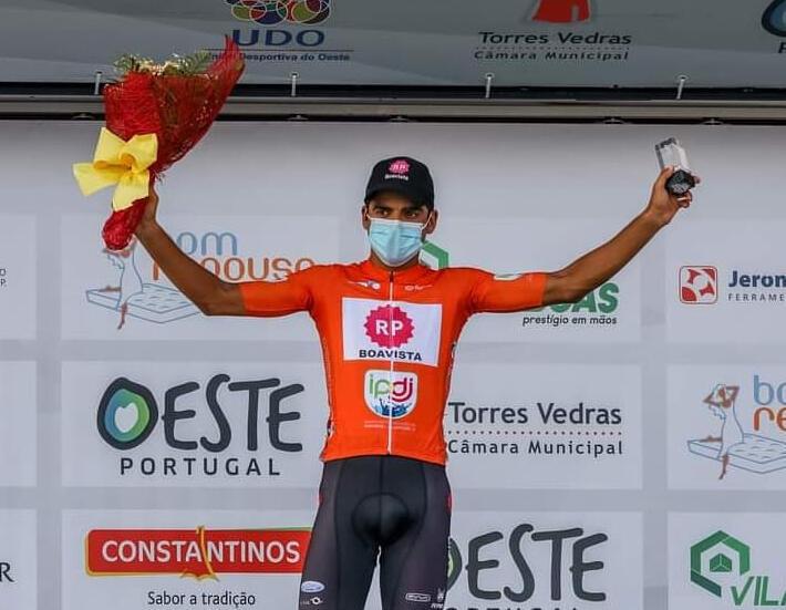 Gonçalo Carvalho, ciclista português da equipa Rádio Popular-Boavista.