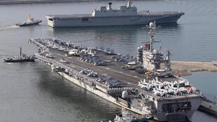 The USS  George Washington