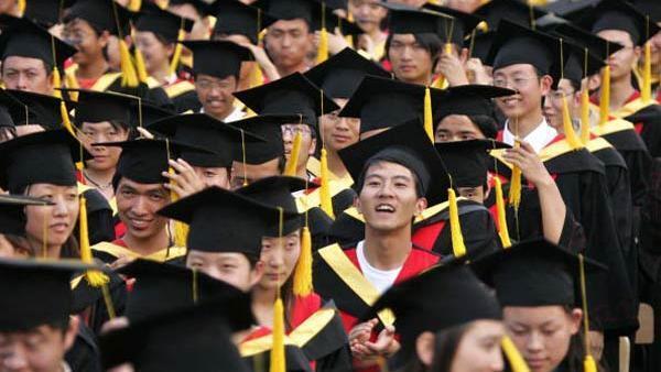 Sinh viên Trung Quốc. Ảnh minh họa.