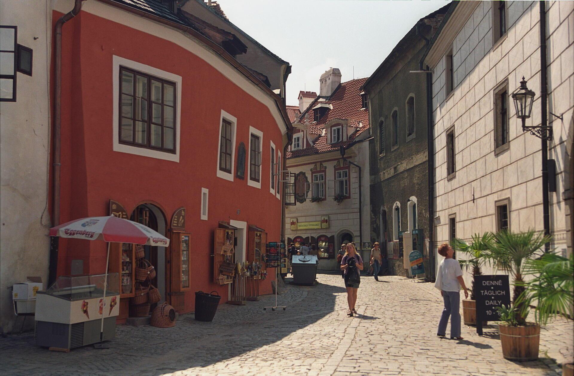 Ảnh minh họa: Đường Siroka, nơi có bảo tàng Egon Schiele của thành phố Cesky Krumlov, Cộng hòa Séc.