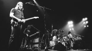 Pink Floyd au Pavillon de Paris, le 22 février 1977.