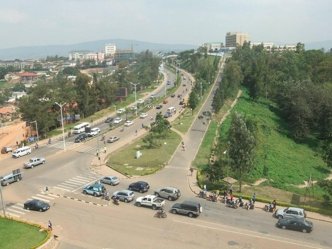 Usafi wa Mazingira katika mjii wa kigali,Rwanda