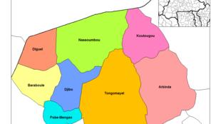 Le département du Soum, dans le nord du Burkina Faso, a été le théâtre d'attaques terroristes ces derniers mois.