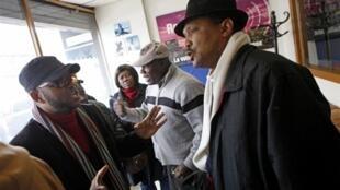 Des membres de la communauté haïtienne de New York, en 2010.