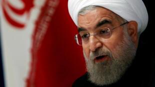 Le président iranien Hassan Rohani, ici aux Nations unies en septembre 2016 (photo d'illustration).