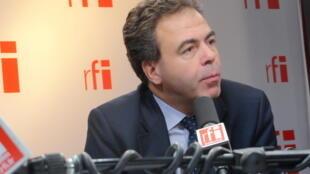 Luc Chatel, député de la Haute-Marne et vice-président délégué de l'UMP.