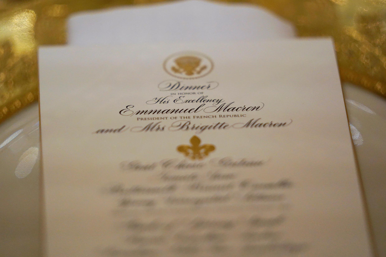 L'invitation officielle.