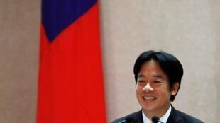 台湾行政院长赖清德资料图片