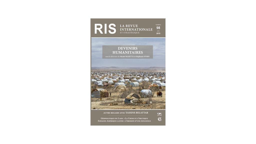 """Couverture de la """"Revue internationale et stratégique"""", n° 98, 2015."""