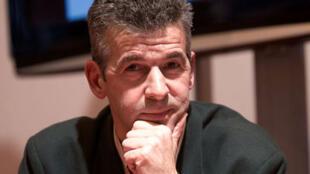 Vincent Hugeux au Salon du livre de Paris en mars 2010.