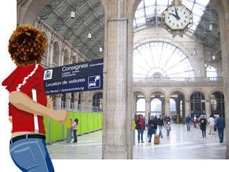 爱娃在火车站