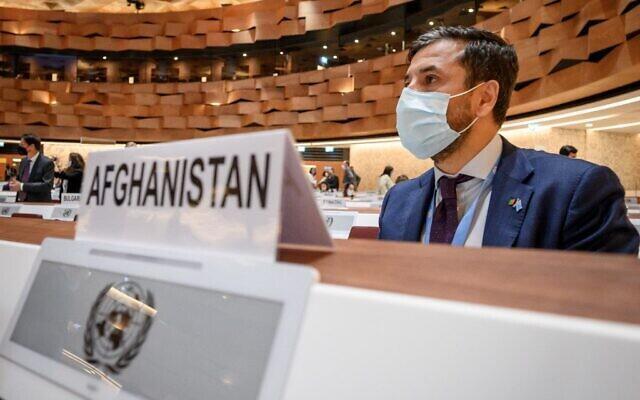 نصیر احمد اندیشه، نمایندۀ افغانستان در شورای حقوق بشر سازمان ملل