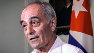 欧盟驻古巴大使阿尔伯托·纳瓦罗资料图片