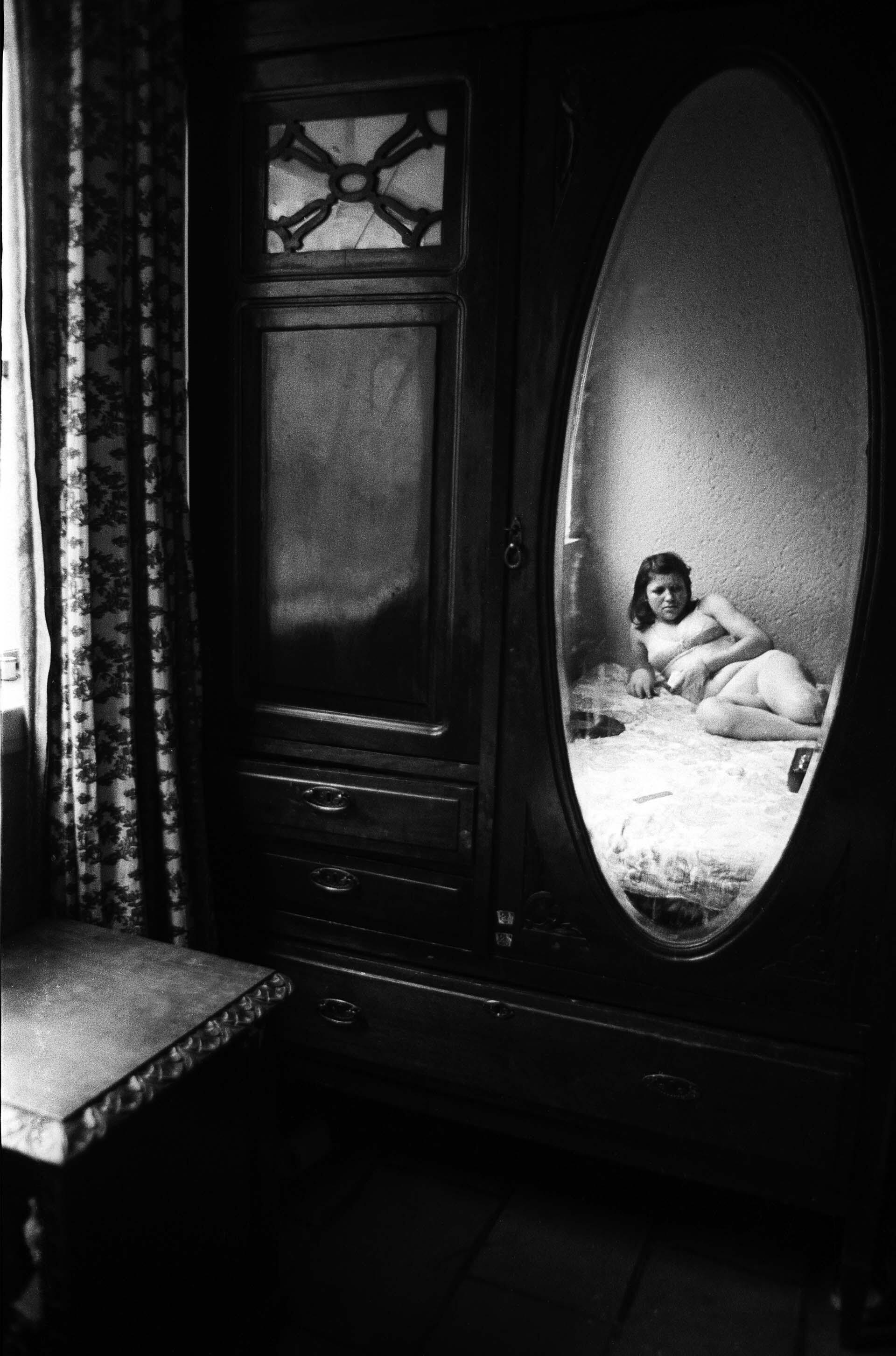 "Da série ""Prostitutas"" (1978), de Rosa Gauditano."