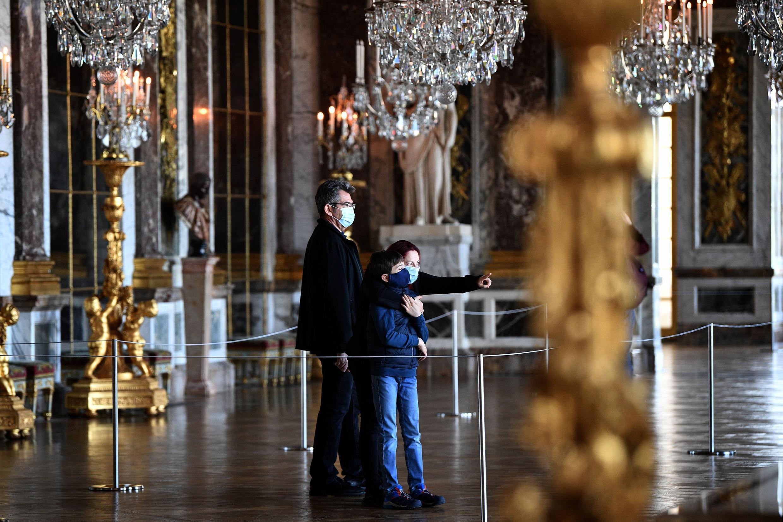 Lâu đài Versailles, gần Paris, Pháp, mở của trở lại cho khách tham quan từ ngày 06/06/2020.