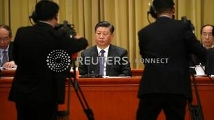 習近平在人大會堂向台灣同胞致辭 2019年1月2日