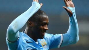 Dan kasar Cote d'Ivoire Yaya Touré da ke taka kwallo a Manchester City