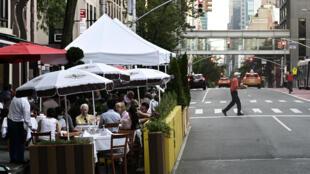 纽约曼哈顿餐厅