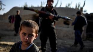 Un niño en la localidad de Deh Qubad, en la provincia afgana de Kandahar, el 27 de septiembre de 2020
