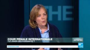 Stéphanie Maupas sur France 24 en janvier 2016.