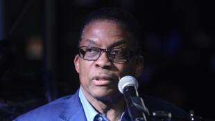 L'auteur-compositeur et chanteur Herbie Hancock à Los Angeles, le 6 mars 2014.