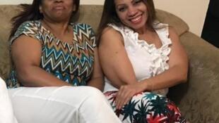 As irmãs venezuelanas Jeaneth e Ivette Ledezma.