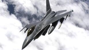 資料圖片:F-16戰鬥機