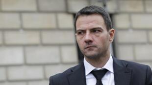 Jérôme Kerviel, peu avant l'énoncé de sa peine en cour d'appel, le 24 octobre 2012 à Paris.