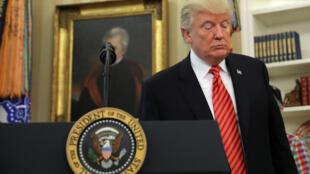 El Presidente de los Estados Unidos, Donald Trump.