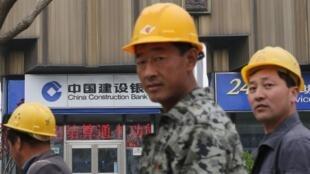 北京的建筑工人  2013 4 22