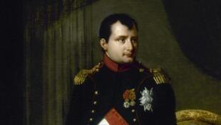 Portrait de Napoléon Ier (1769-1821) par Robert Lefèvre (1755-1830).