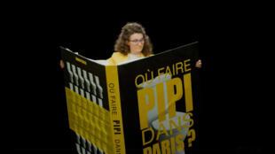 Campanha da preifeitura de Paris para evitar que as pessoas urinem nas ruas.