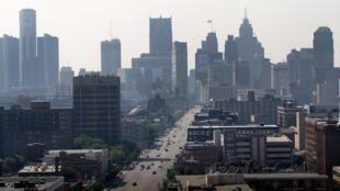 Vue de Detroit, le 19 juillet 2013.