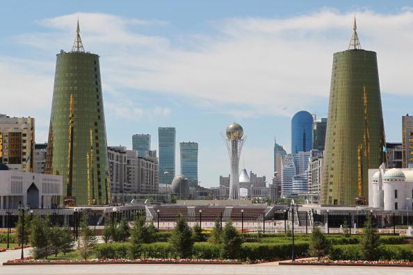 Astana, capitale du Kazakhstan.