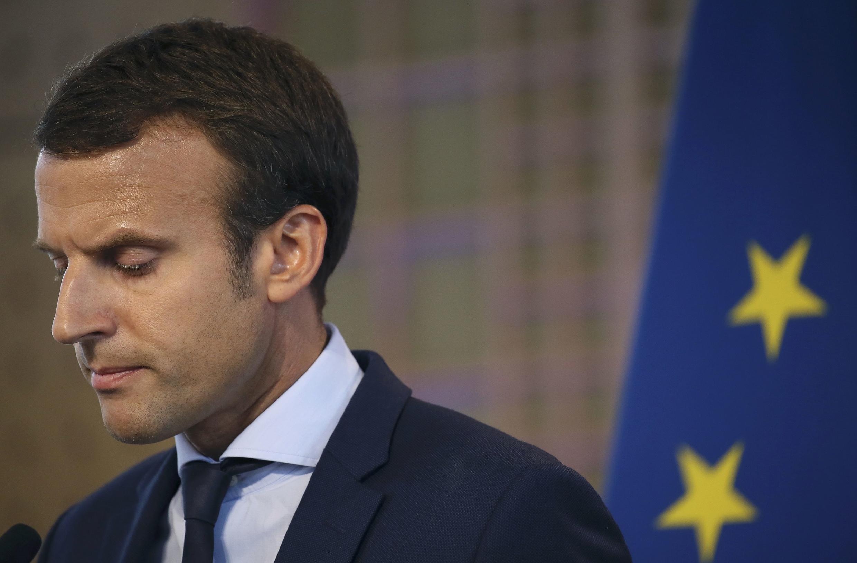 Ministro da Economia, Emmanuel Macron, pediu demissão nesta terça-feira.