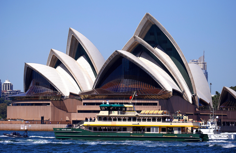 Back in business: Sydney Opera House.