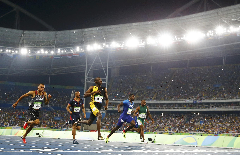 JO 2016, finale du 100m, Rio de Janeiro. Bolt «éternel».