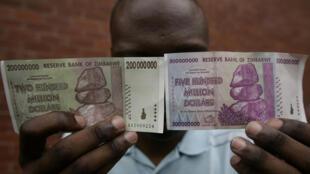 Dola milioni 200 za Zimbabwe mfomo wa noti uliotolewa mwaka 2016.