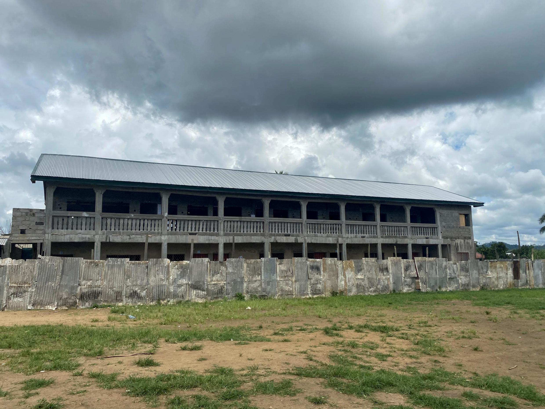 L'école de Kumba visée par une attaque meurtrière, le 25 octobre 2020.