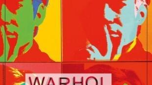L'affiche de l'exposition <i>Warhol Unlimited, </i>qui se tient jusqu'au 7 février 2016, au musée d'Art moderne à Paris.