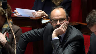 Le Premier ministre français Edouard Philippe à l'Assemblée nationale, à Paris, le 20 février 2018.